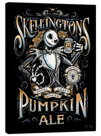 Canvas print  Jack Skellington's Ale - Barrett Biggers