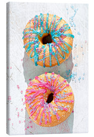 Canvas print  Doughnuts icing - K&L Food Style