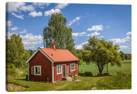 Canvas  Idyllic Swedish summer house - Christian Müringer