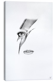Canvas print  Ziggy Stardust - Ileana Hunter