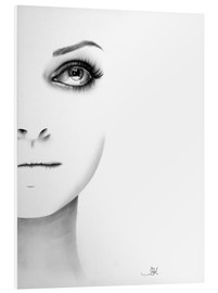 Foam board print  Mila Kunis Half Series - Ileana Hunter