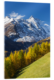 Acrylic print  Grossglockner High Alpine Road - Rainer Mirau