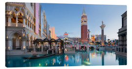 Canvas print  The Venetian Hotel on South Las Vegas Boulevard - Rainer Mirau