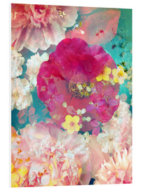 Forex  Composing with colorful flowers in water - Alaya Gadeh