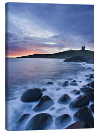 Canvas print  Dunstanburgh Castle, Northumberland - Rainer Mirau