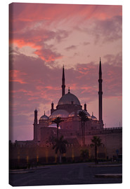 Canvas print  Zitadelle mit Mohamad-Ali-Moschee, Naher Osten, Mohammed-Ali - Catharina Lux