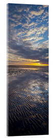 Acrylic print  Sunrise in the mud, near List - Rainer Mirau