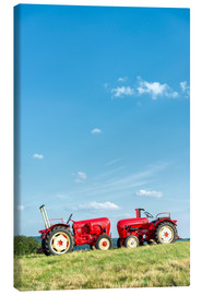 Canvas print  tractor meeting - Bernd Wittelsbach