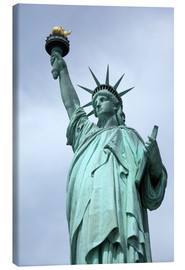 Canvas  Statue of Liberty - Catharina Lux
