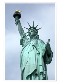 Premium poster  Statue of Liberty - Catharina Lux