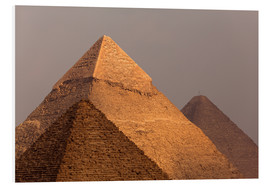 Foam board print  Pyramids of Giza, Egypt - Catharina Lux