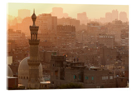 Acrylic print  Old city of Cairo - Catharina Lux