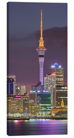 Canvas print  Skyline of Auckland - Rainer Mirau