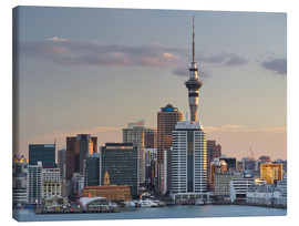 Canvas print  Sky Tower and the skyline of Auckland - Rainer Mirau