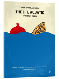 Acrylic print  The Life Aquatic with Steve Zissou - chungkong