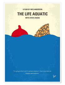 Premium poster The Life Aquatic with Steve Zissou