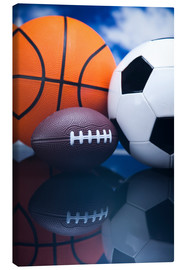 Canvas print  ball Sports
