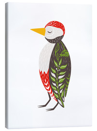Canvas  Little woodpecker - Kidz Collection