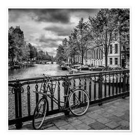 Premium poster AMSTERDAM Emperors Canal