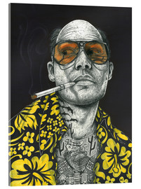 Acrylic print  Fear and Loathing - Inked Ikons