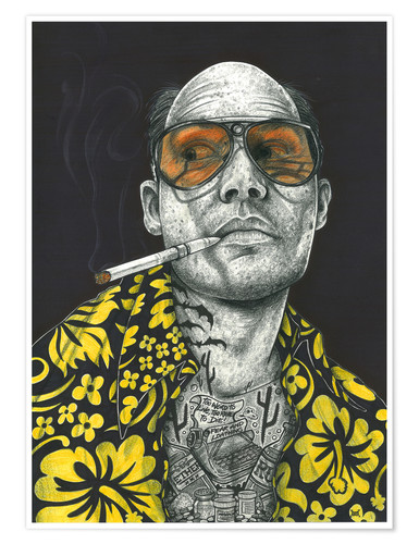 Premium poster Fear and Loathing