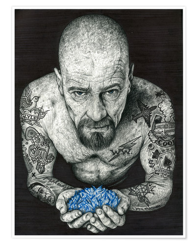 Premium poster Breaking Bad, Heisenberg