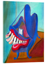 Acrylic print  The smiling piano - Diego Manuel Rodriguez