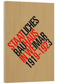 Wood  STAATLICHES BAUHAUS (VINTAGE) - THE USUAL DESIGNERS
