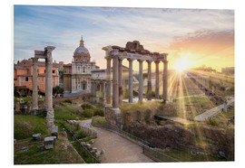 Forex  Sunset at the Roman Forum in Rome, Italy - Jan Christopher Becke
