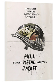 Forex  alternative full metal jacket fan art print - 2ToastDesign