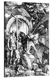 Aluminium print  The Harrowing of Hell or Christ in Limbo, from The Large Passion - Albrecht Dürer