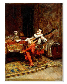 Premium poster The Lute Player