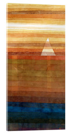 Acrylic print  Lonely - Paul Klee