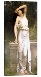 Canvas print  A Classical Beauty by a Well - William Adolphe Bouguereau