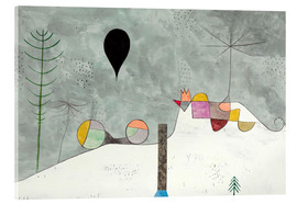 Acrylic glass  Winter picture - Paul Klee