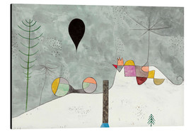 Aluminium print  Winter picture - Paul Klee