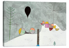 Canvas  Winter picture - Paul Klee