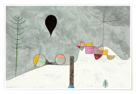 Premium poster  Winter picture - Paul Klee