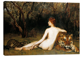 Canvas print  Circe - John Collier