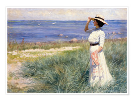 Premium poster  Looking out to Sea - Paul Fischer
