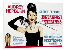 Foam board print  Breakfast at Tiffany's - English School