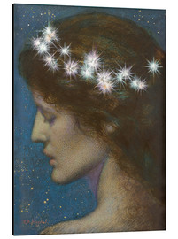 Aluminium print  Night - Edward Robert Hughes