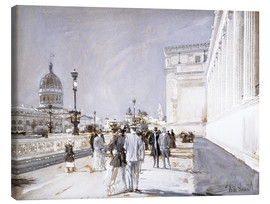 Canvas print  World's Fair, Chicago - Frederick Childe Hassam