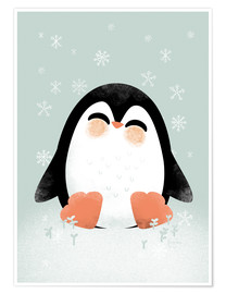 Premium poster Animal Friends - The Penguin