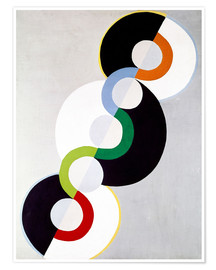 Poster  Endless rhythm - Robert Delaunay