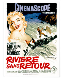 Premium poster  River of No Return - French School