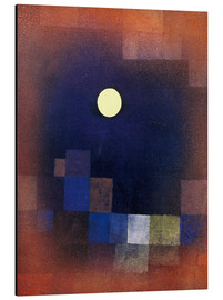 Aluminium print  Moonrise - Paul Klee