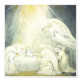 Premium poster  The Infant Jesus Saying His Prayers - William Blake