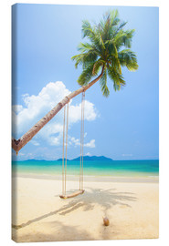Canvas print  Palm swing