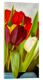 Acrylic print  Cheerful spring colors - Monica Schwarz